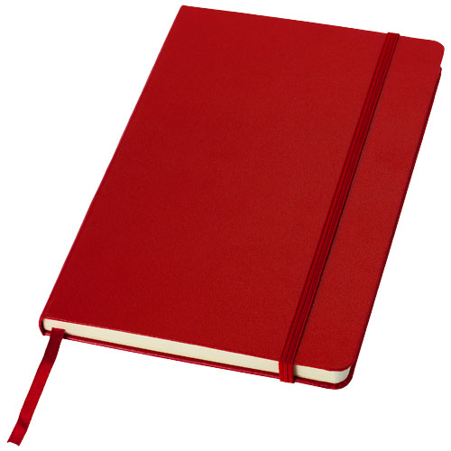 Classic A5 hard cover notebook in red
