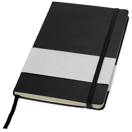 Office notebook (A5 ref) in black-solid