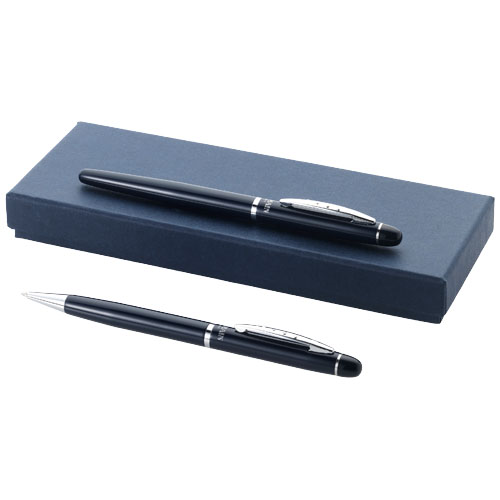 Ballpoint pen gift set in navy