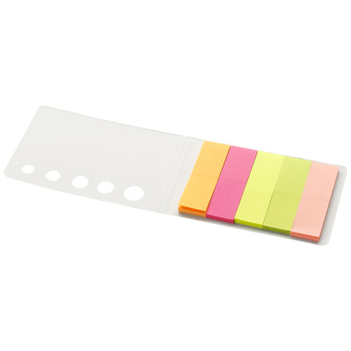 Fergason coloured sticky notes set in white-solid