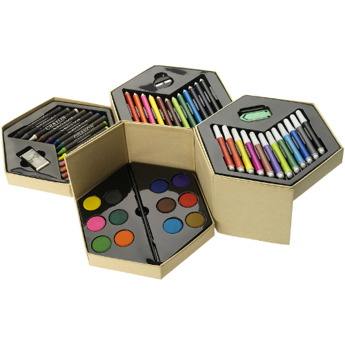 Pandora 52-piece colouring set in