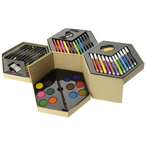 Pandora 52-piece colouring set in multi-colou