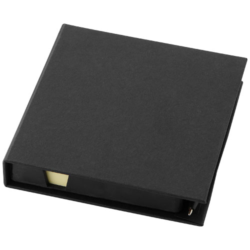 Samba sticky notes and pen in black-matted
