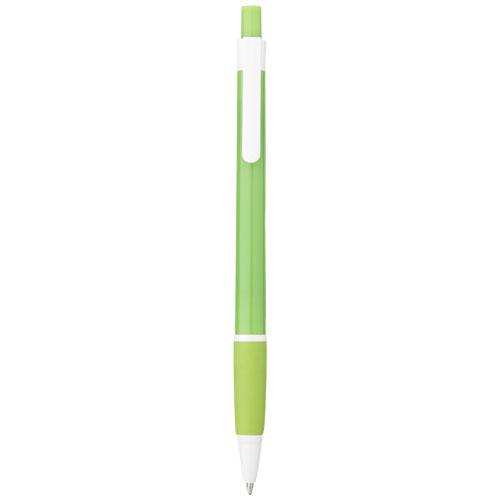 Malibu ballpoint pen in lime-green