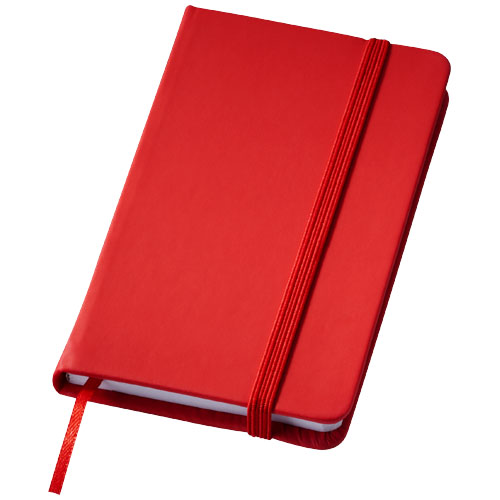 Rainbow small hard cover notebook in red