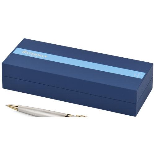 Expert ballpoint pen in steel-and-gold