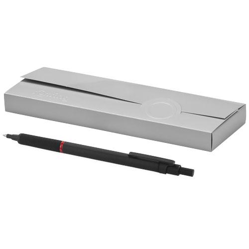 Rapid Pro ballpoint pen in black-solid