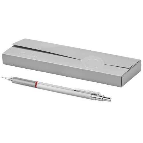 Rapid Pro mechanical pencil in silver
