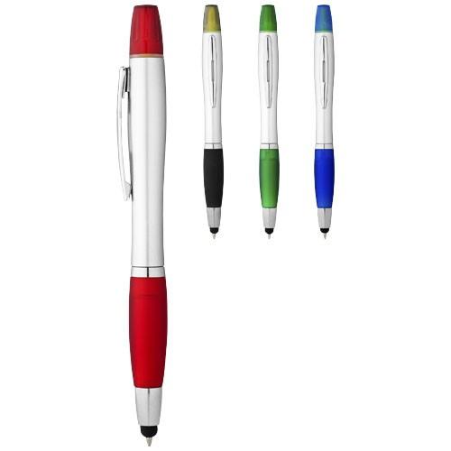 Nash stylus ballpoint pen and highlighter in