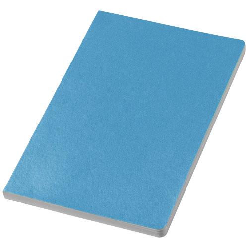 City notebook in light-blue