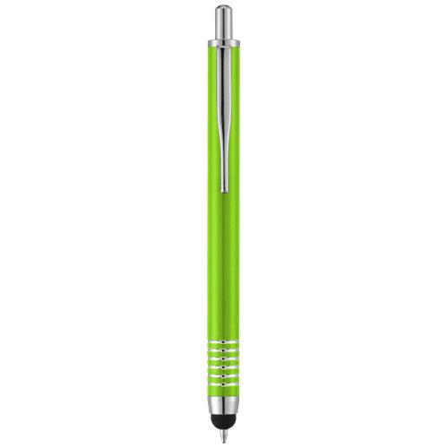 Zoe stylus ballpoint pen in lime