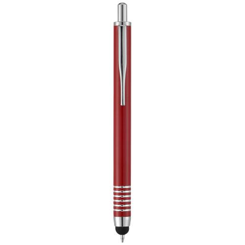 Zoe stylus ballpoint pen in red