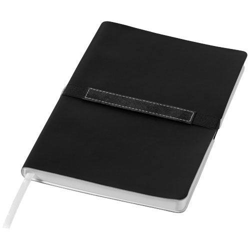 Stretto Notebook A6 in black-solid