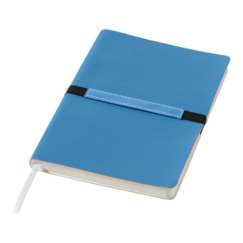 Stretto A5 soft cover notebook in blue