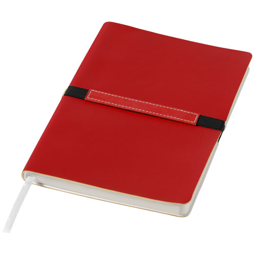 Stretto A5 soft cover notebook in red