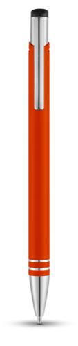 Hawk ballpoint pen in orange