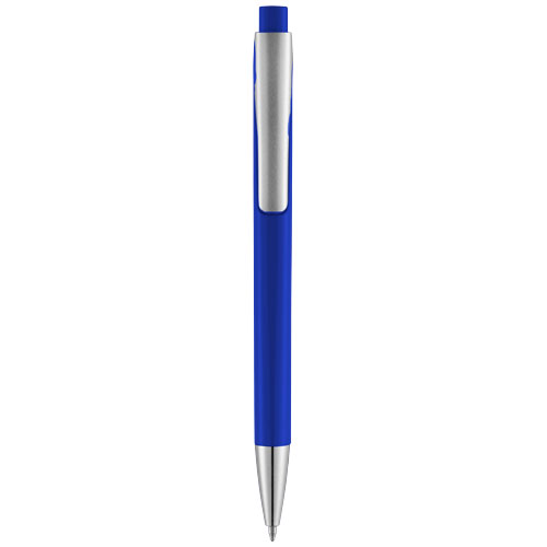 Pavo ballpoint pen with squared barrel in royal-blue