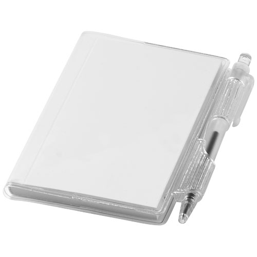Air notebook and pen in transparent-clear