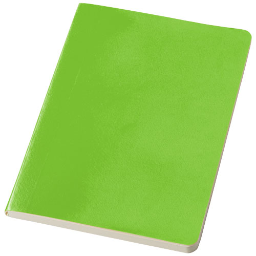 Gallery A5 soft cover notebook in lime