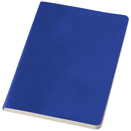 Gallery A5 soft cover notebook in royal-blue