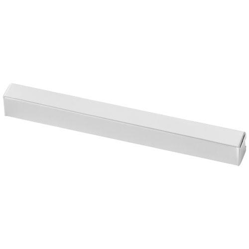 Farkle single-pen box in white-solid
