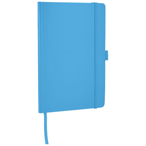 Flex A5 notebook with flexible back cover in light-blue