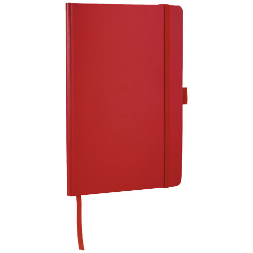 Flex A5 notebook with flexible back cover in red