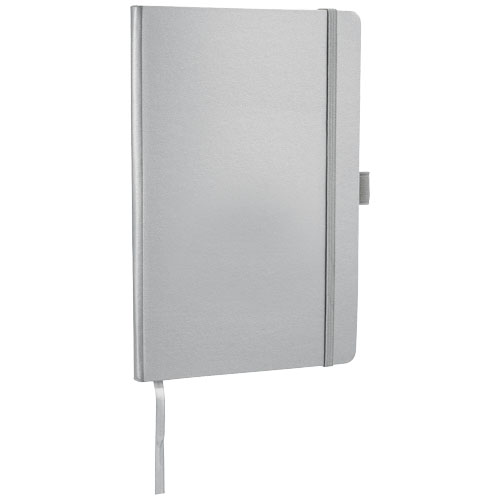Flex A5 notebook with flexible back cover in silver