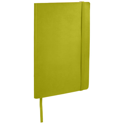 Classic A5 soft cover notebook in lime