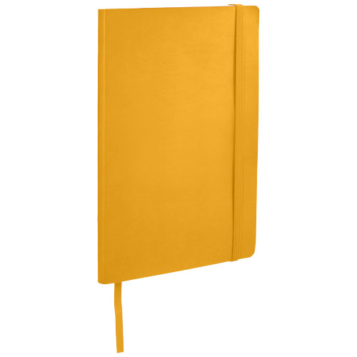 Classic A5 soft cover notebook in yellow
