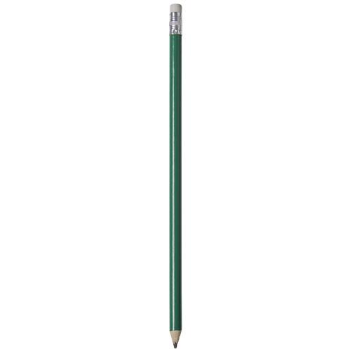 Alegra pencil with coloured barrel in green