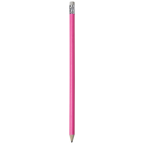 Alegra pencil with coloured barrel in pink