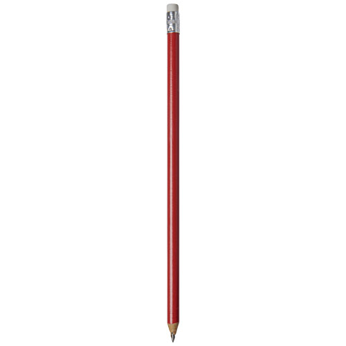 Alegra pencil with coloured barrel in red