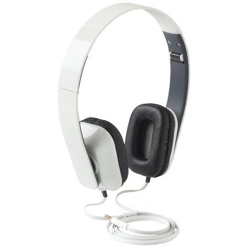 Tablis foldable Headphones in white-solid