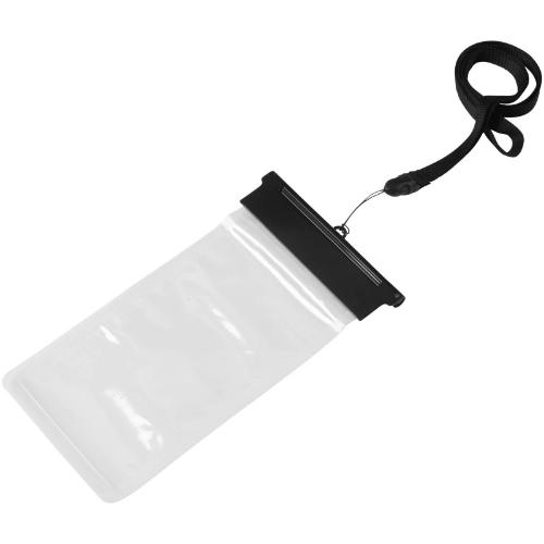 Splash waterproof touch-screen smartphone pouch in