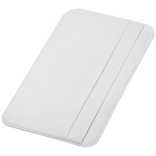 I.D. Please card holder in white-solid
