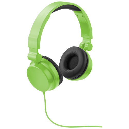Rally foldable headphones in lime