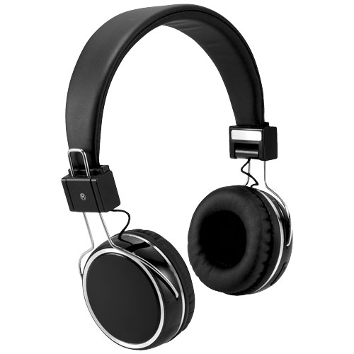 Midas Touch Bluetooth® headphones in black-solid