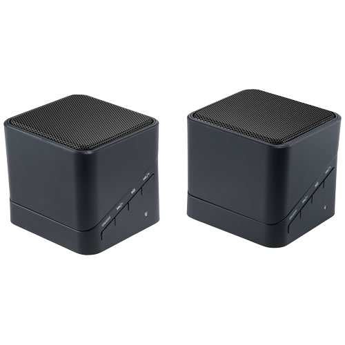 MixMaster Bluetooth® Pairing Speaker Set in black-solid
