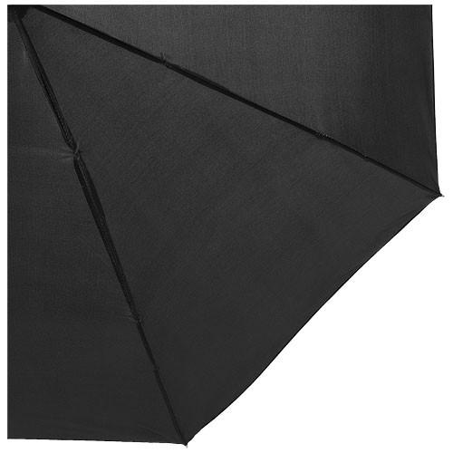 Alex 21.5'' foldable auto open/close umbrella in white-solid