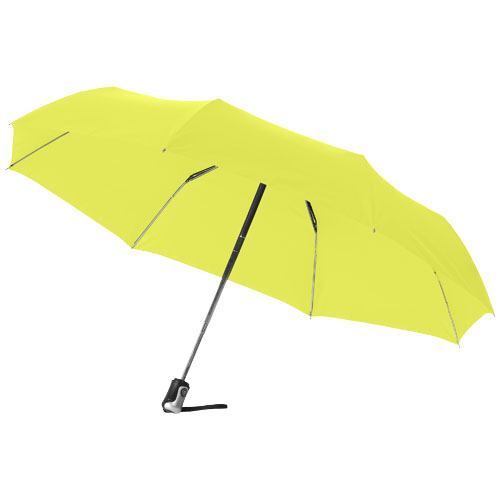 Alex 21.5'' foldable auto open/close umbrella in neon-green