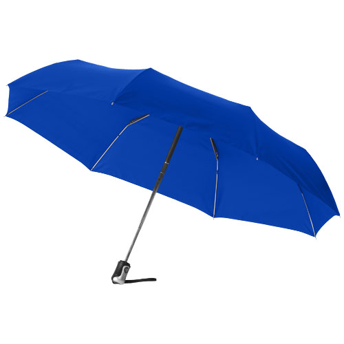 Alex 21.5'' foldable auto open/close umbrella in royal-blue