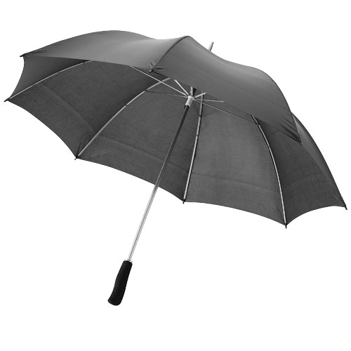 Winner 30'' exclusive design umbrella in black-solid
