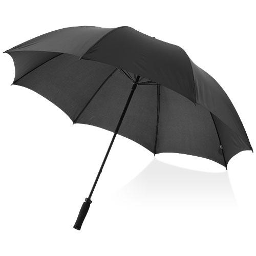 Yfke 30'' golf umbrella with EVA handle in black-solid