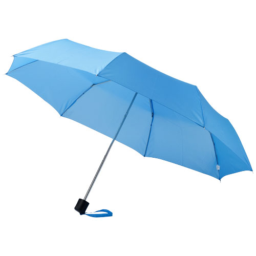 Ida 21.5'' foldable umbrella in blue