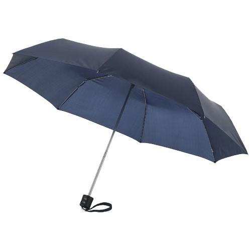 Ida 21.5'' foldable umbrella in navy