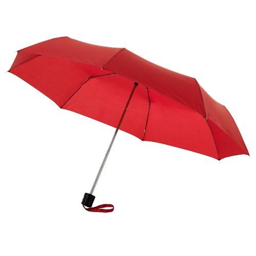 Ida 21.5'' foldable umbrella in red