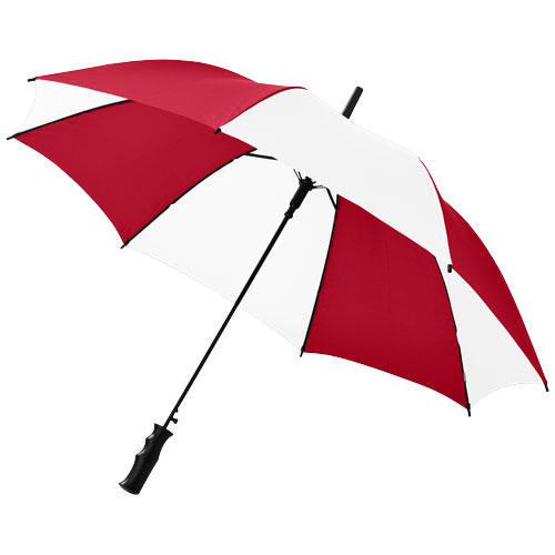Barry 23'' auto open umbrella in red-and-white-solid