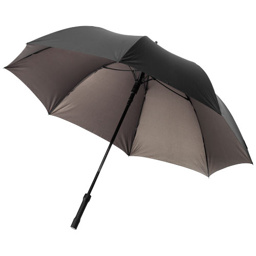 A-Tron 27'' auto open umbrella with LED handle in black-bronz