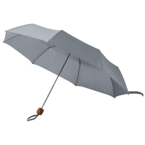 Lino 21.5'' foldable umbrella in grey
